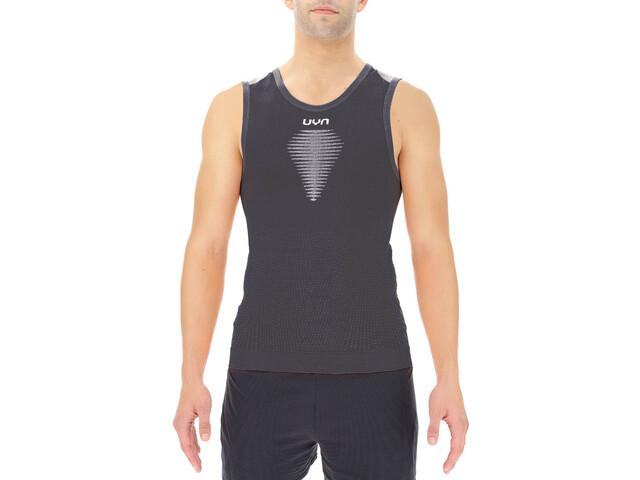 UYN Marathon Sleeveless Shirt Men, blackboard/white